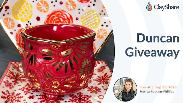 Duncan Giveaway