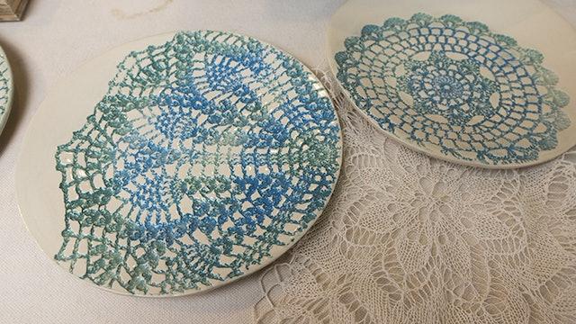 Doily Plate