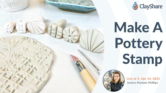 Making A Pottery Stamp