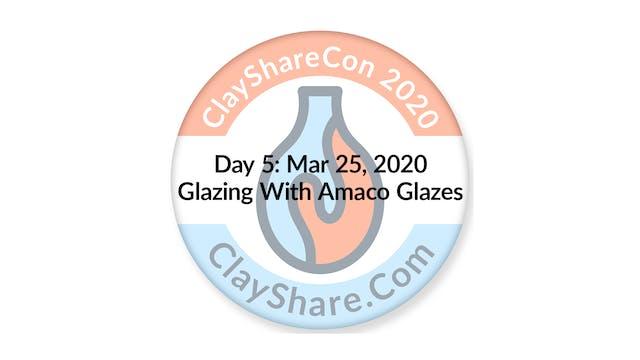 Glazing with Amaco Glazes