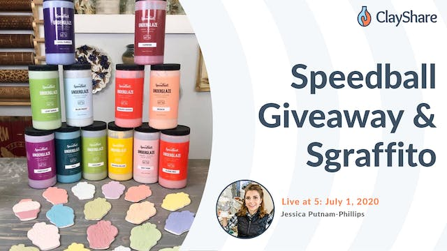Speedball Giveaway & Sgraffito
