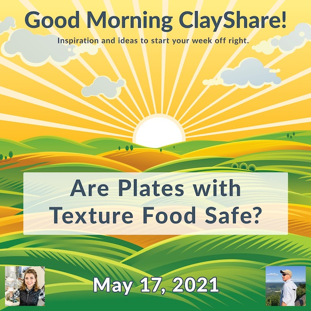 Are Texture Plates Food Safe