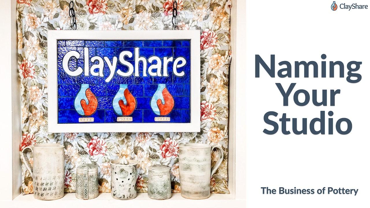Naming Your Studio