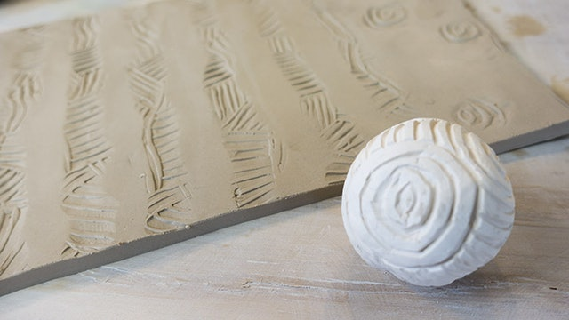 Texture Ball Stamp