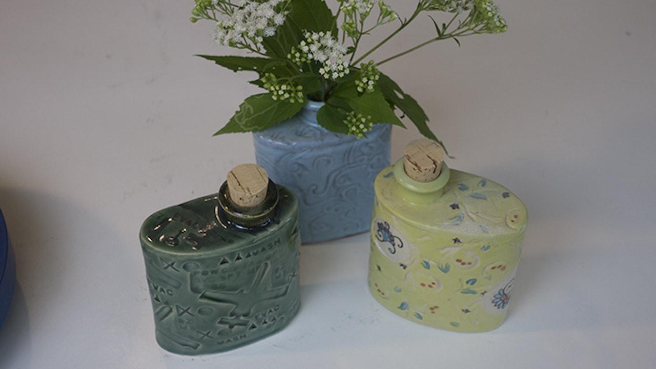 Flask or Vase