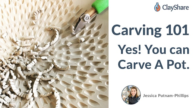 Carving 101 - Yes You Can Carve A Pot