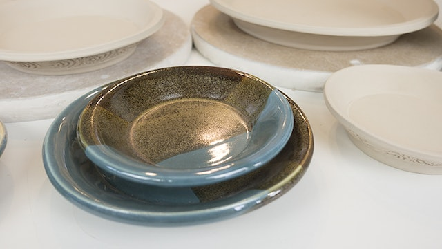 Plates with GR Pottery Forms and WA System