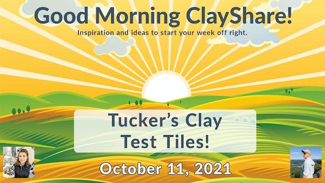 Tucker's Clay Test Tiles
