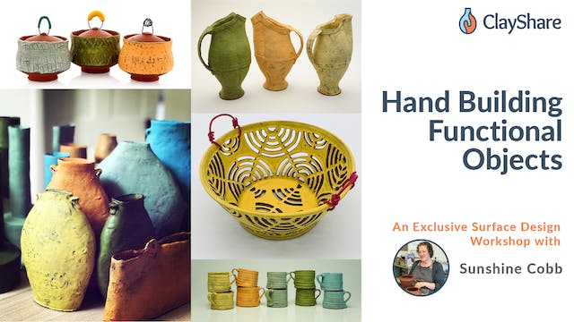 Hand Building Functional Objects