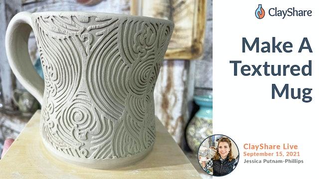 Make A Textured Mug