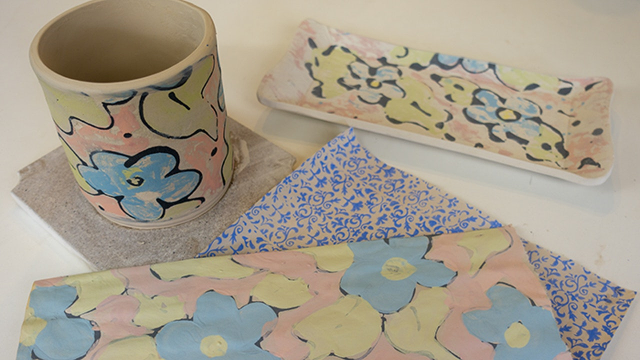 Making Your Own Underglaze Transfers