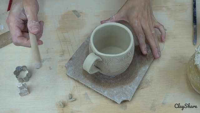 Espresso Cup and Saucer - Attaching t...