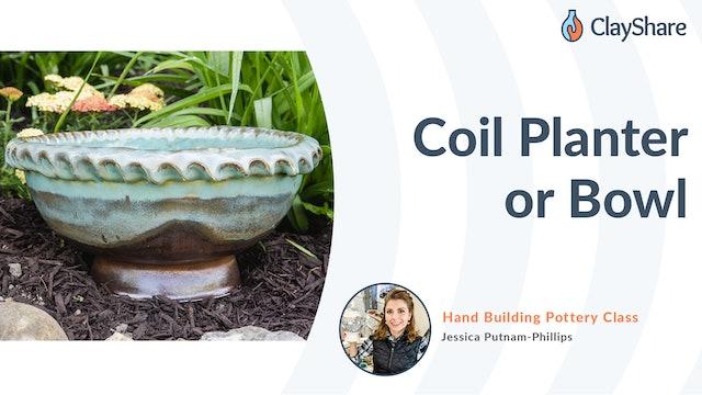 Coil Planter or Bowl