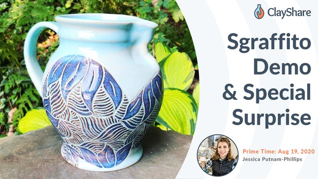 Sgraffito Demo & Special Surprise