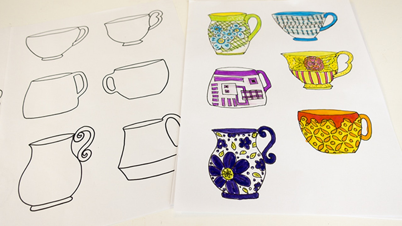 Drawing Teacups and Mugs