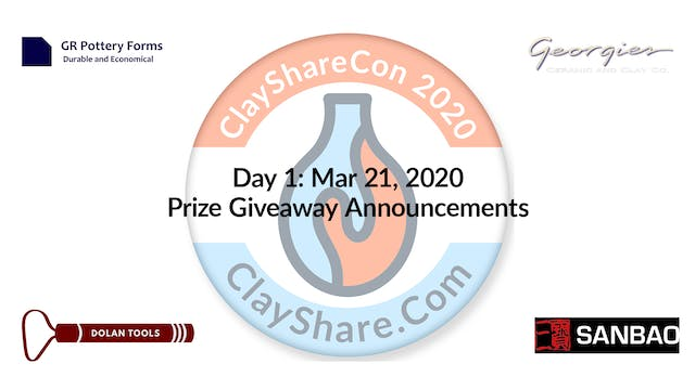 Day 1 Prize Announcement