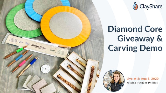 Diamond Core Giveaway & Carving Demo