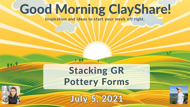 Stacking GR Pottery Forms