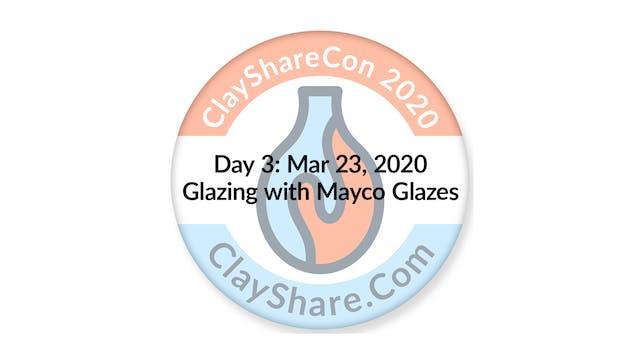 Glazing with Mayco Glazes