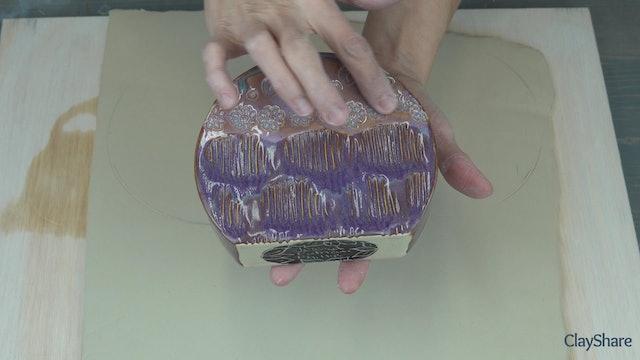 Stiff-Slab-Circle-Vase-02-Prep-Slab