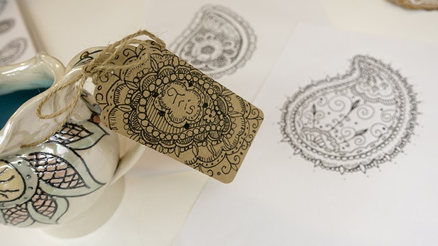 Drawing Paisleys