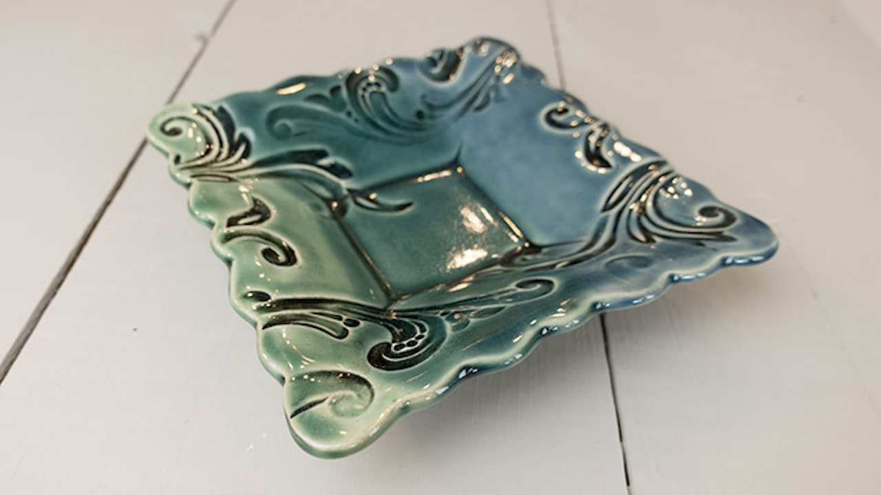 Square Candy Dish