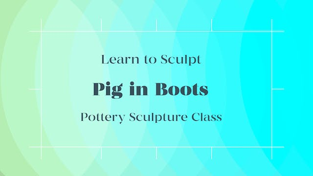 Pig In Boots Sculpture