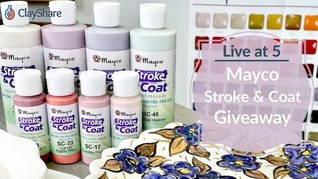 Mayco Stroke and Coat Giveaway