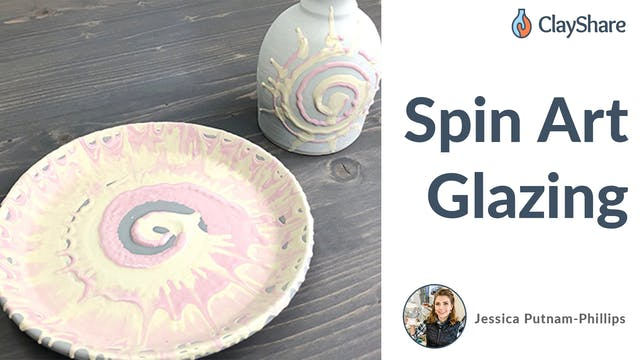 Spin Art Glazing