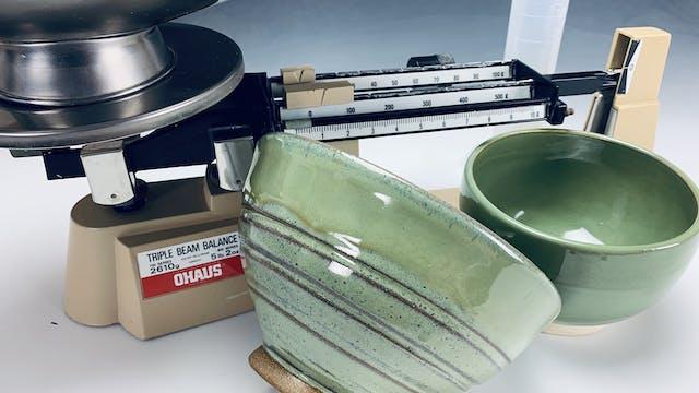 Making Glossy Spearmint Glaze