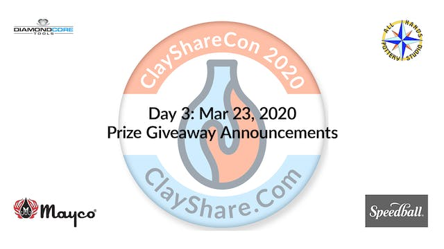 Day 3 Prize Announcement