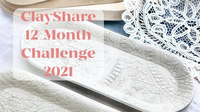 ClayShare 12-Month Challenge 2021