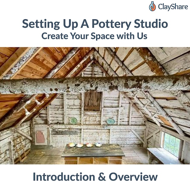Setting Up A Pottery Studio Intro
