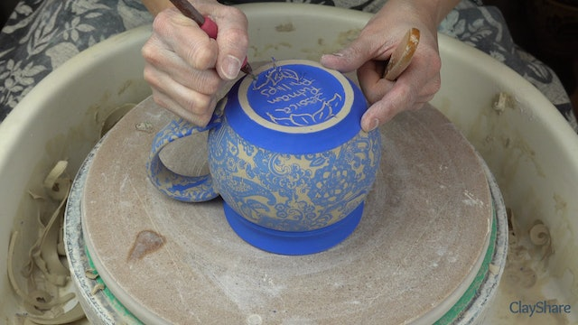 Underglaze-Transfer-Thrown-Mug-10-Signing-Bottom