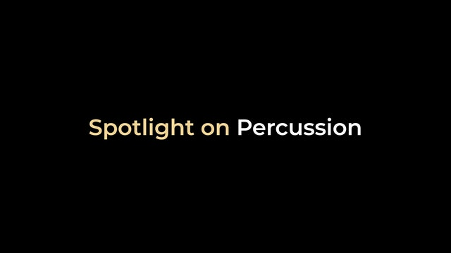 Spotlight on Percussion