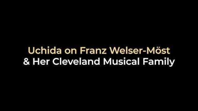 Uchida on Franz Welser-Most and her C...