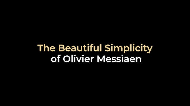 The Beautiful Simplicity of Olivier M...