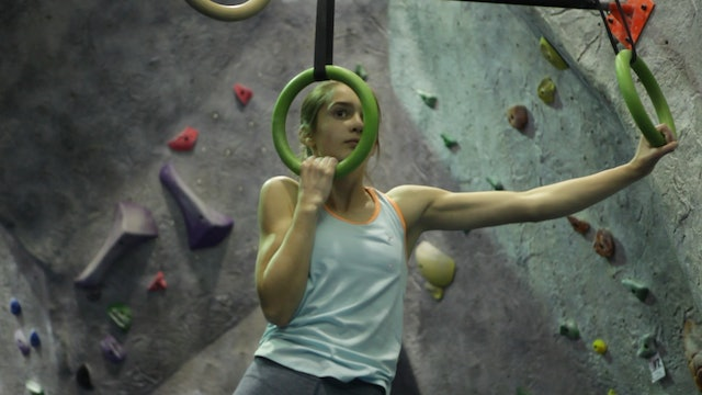 Fitness for Climbing: 9. Rock Rings - One Arm Lock-Offs