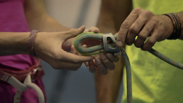 Gym Top Rope Climbing: 4. Belay Devic...