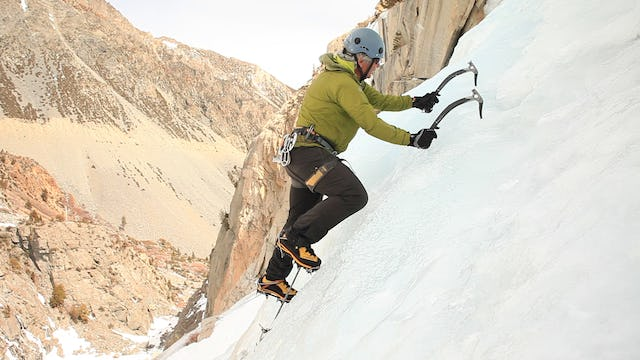 Ice Climbing: 3. Alternate vs. Horizontal Placements