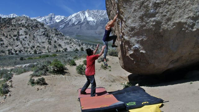 Bouldering: 1. Crash Pads