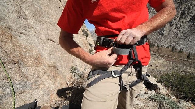 Basic & Intermediate Outdoor Climbing: 1. Harness Safety