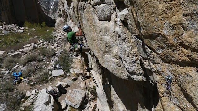 Aid Climbing: 13. Leading Steep Terrain