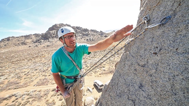 Basic & Intermediate Outdoor Climbing: 13. Cleaning a Top Rope Anchor & Rappelling with a Backup