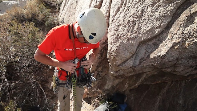 Basic & Intermediate Outdoor Climbing: 16. Traditional Climbing - Racking for Lead