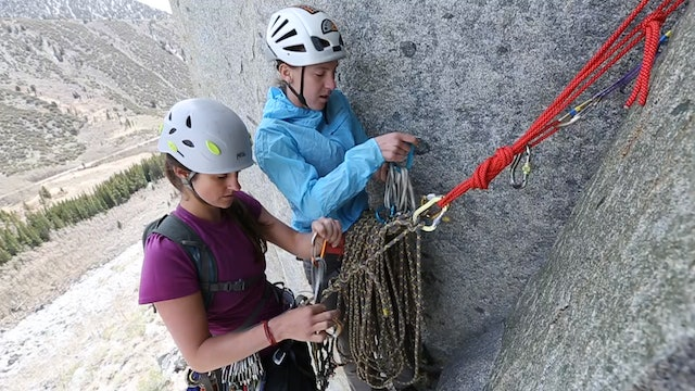 Multi-Pitch Trad Climbing