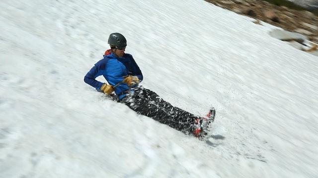 Alpine: 12. How to Glissade