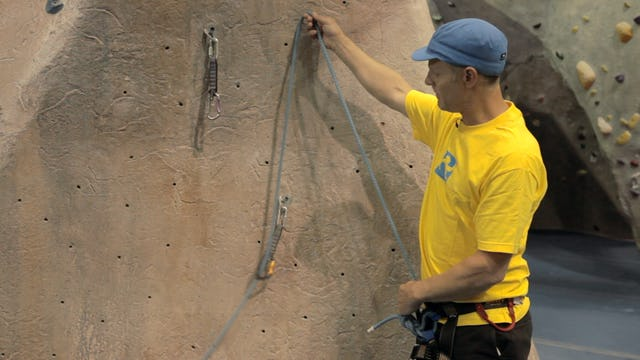 Gym Lead Climbing: 4. Avoid Back-Clipping