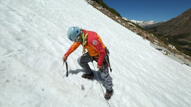 Alpine: 15. Snow Anchors - Using your Ice Axe
