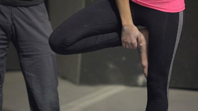 Yoga & Stretching for Crack Climbing & Liebacking